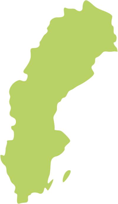 Umriss Königreich Schweden