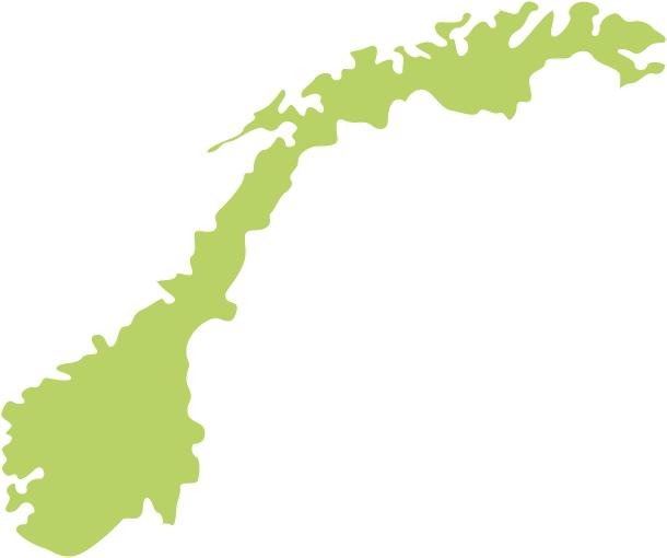 Umriss Norwegen