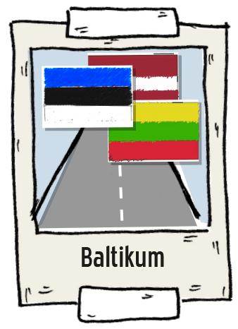 Polaroid Baltikum Roadtrip