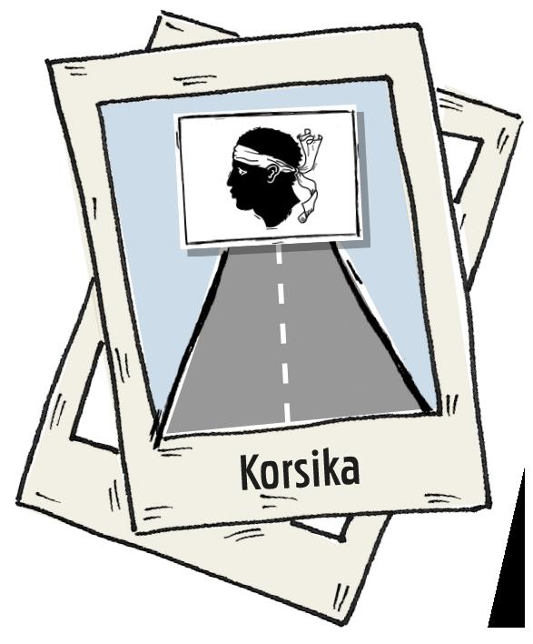 Polaroid Korsika Roadtrip