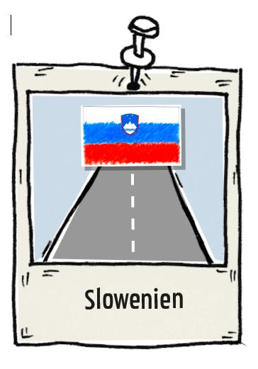 Polaroid Slowenien Roadtrip