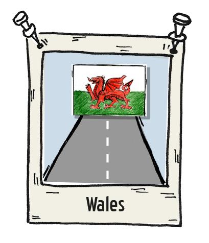 Polaroid Wales Roadtrip
