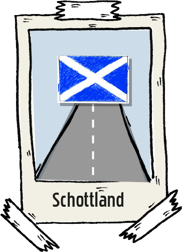 Polaroid Schottland Roadtrip