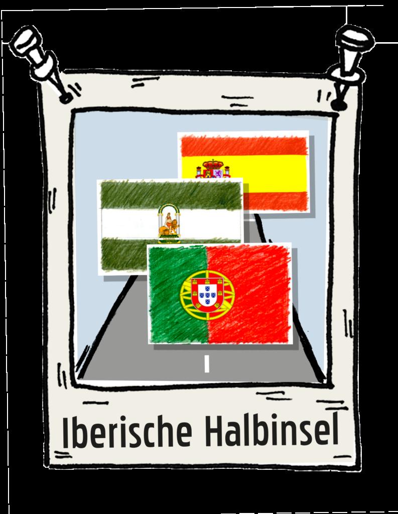 Polaroid Iberische-Halbinsel-Roadtrip the-euroamers