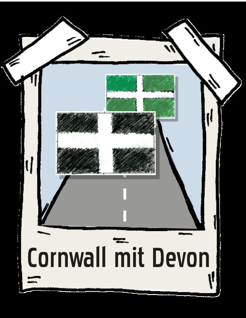 Polaroid Cornwall-und-Devon-Roadtrip the-euroamers