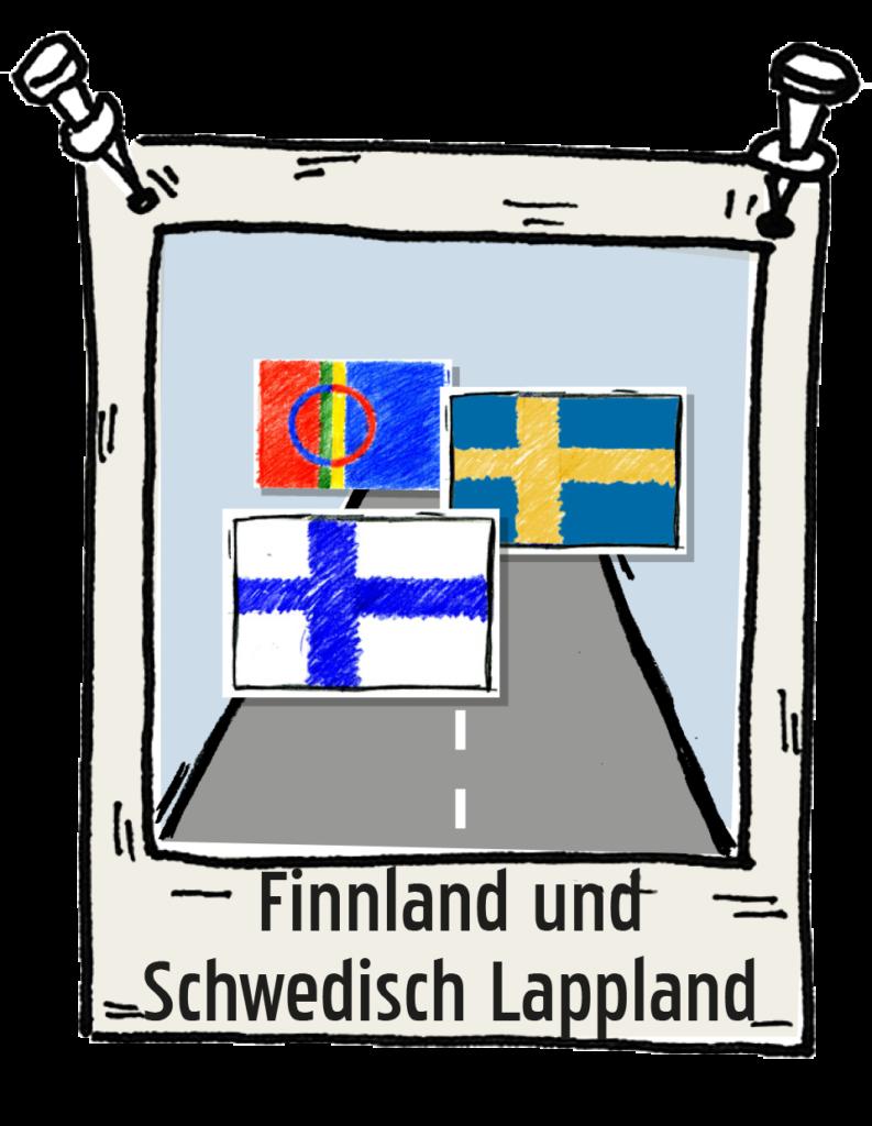 Polaroid-Finnland-und-Schwedisch-Lappland Roadtrip the-euroamers