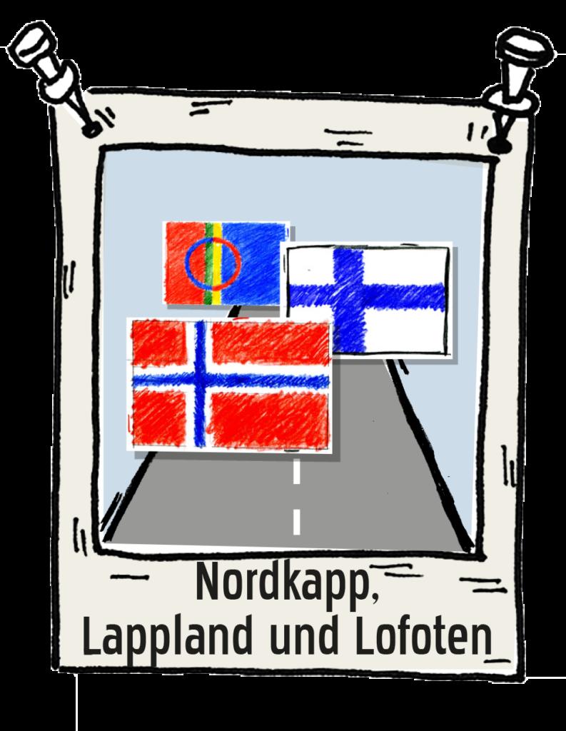 Polaroid-Nordkapp-Lappland-und-Lofoten Roadtrip the-euroamers