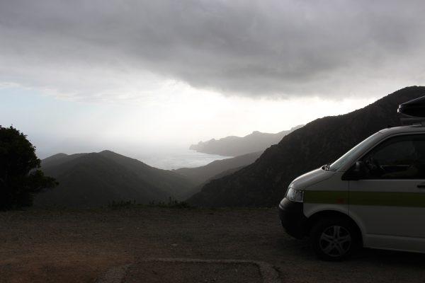 Korsika Küste Horizont Campervan