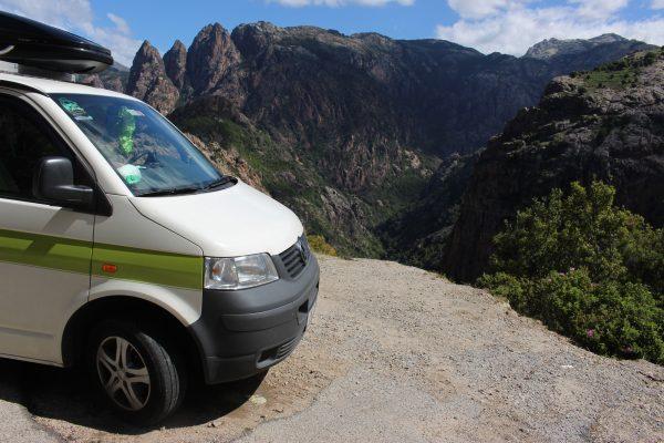 Berge Korsika Roadtrip