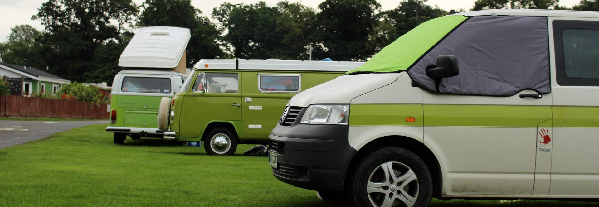 Bustreffen Stirling Bulli Campervan Schottland
