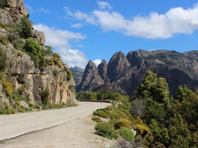 Roadtrip Korsika Straßen the euroamers