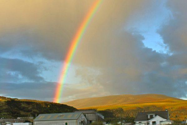 Regenbogen Schottland