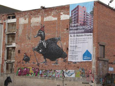 streetart Finnland