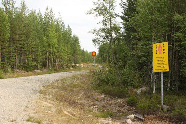 Grenzgebiet Russland russische-Grenze Roadtrip Finnland