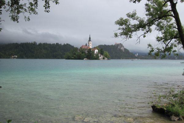 Kirche Bled Slowenien