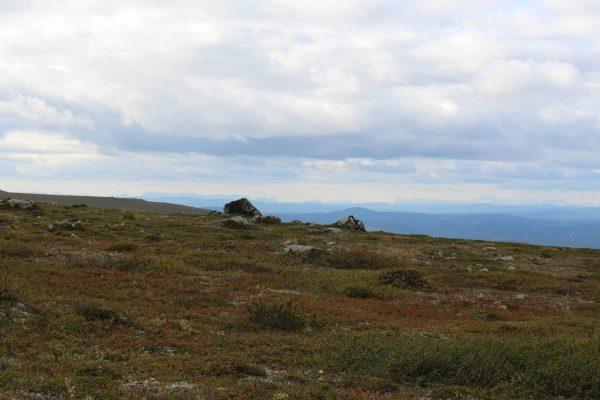 Dundret Wanderung Schweden Skandinavien