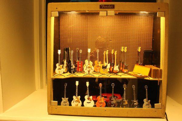 Miniatur-Gitarren Gitarrenmuseum
