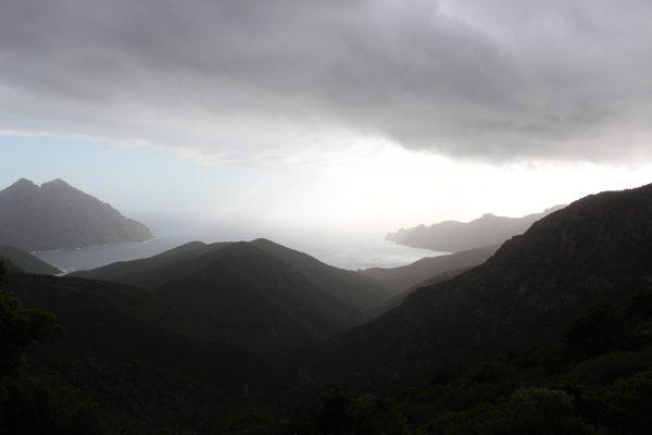 Gewitterstimmung Korsika