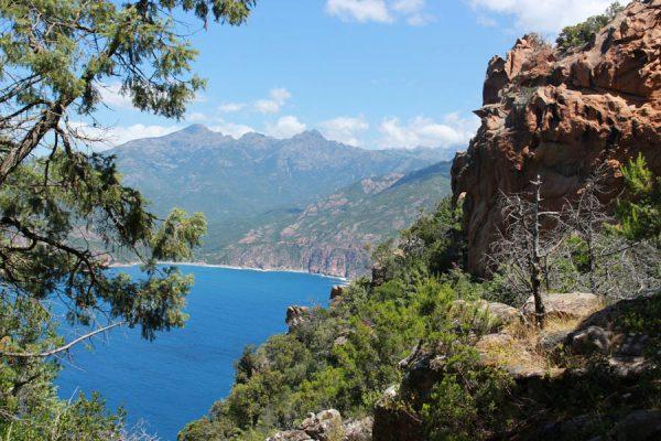 Meerblick Korsika
