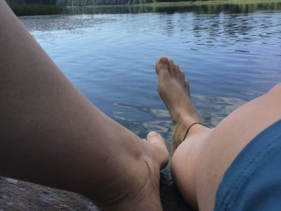 Badesee Litauen Baltikum