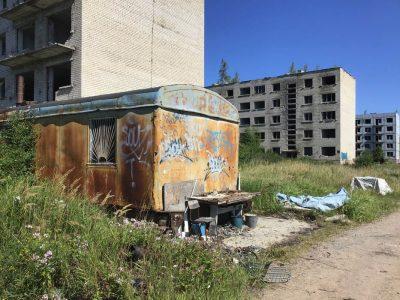 russische-Siedlung lost-places Baltikum