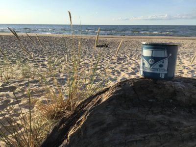 Strand VW-Tasse Baltikum