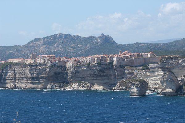 Kreidefelsen-von-Bonifacio Korsika
