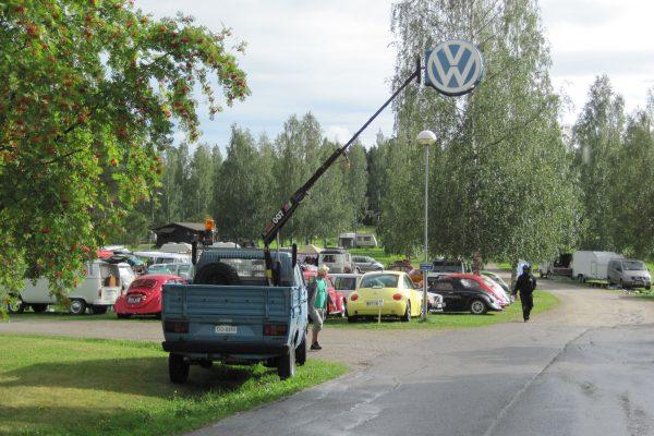 Auf dem VW-Treffen Finnland