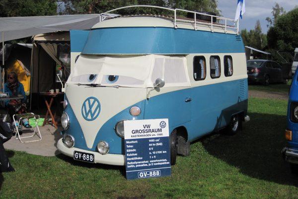T1 auf dem VW-Treffen Finnland