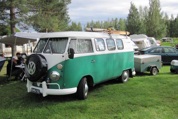 Auf dem VW-Treffen in Finnland