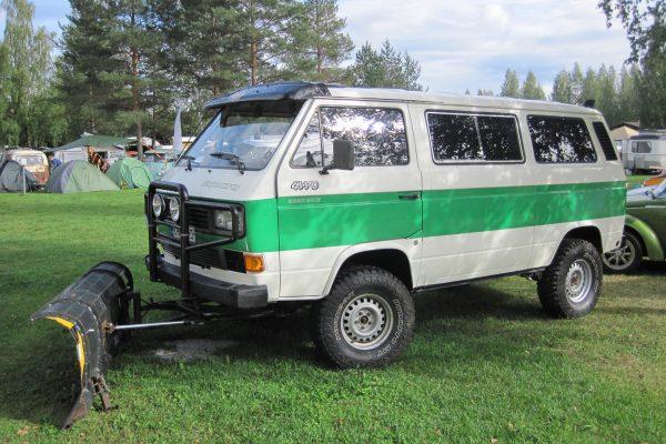 T3 auf dem VW-Treffen in Finnland