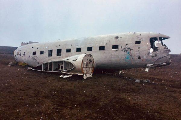 Flugzeugwrack Island Sólheimasandur