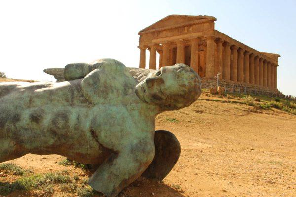 Valle-dei-templi Sizilien