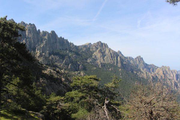 Berge Wandern Korsika