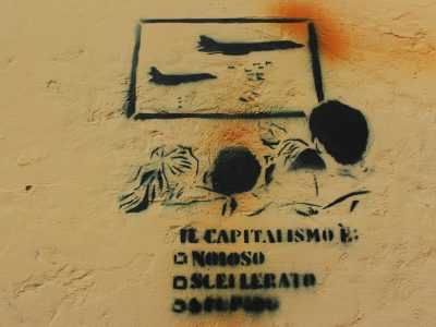 Streetart Stencil Sizilien Italien Palermo
