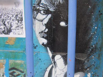 Graffiti Shoreditch London C215 Streetart