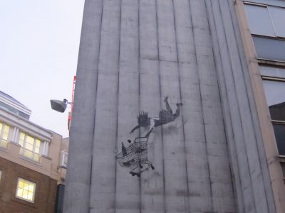 Graffiti Shoreditch London Banksy Stencil Streetart