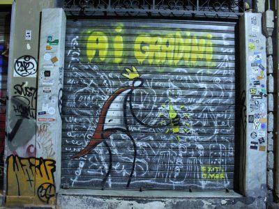 Streetart Graffiti Palermo Sizilien Italien