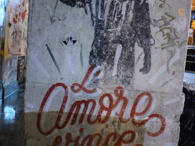 Streetart Stencil Palermo Sizilien Italien