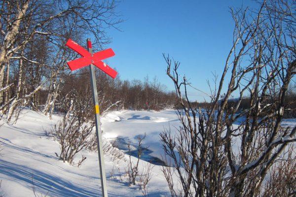 Winter Winterwandern Schneescooter