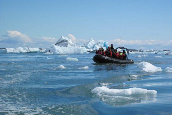 Gletscher-See Jökulsárlón Island