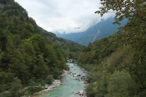 Soča Slowenien Sočatal