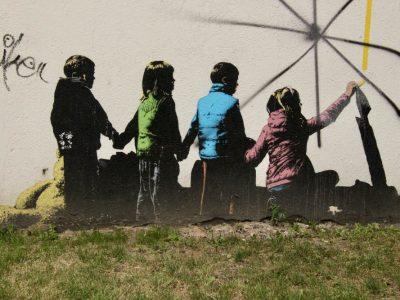Graffiti Streetart Kaunas Baltikum
