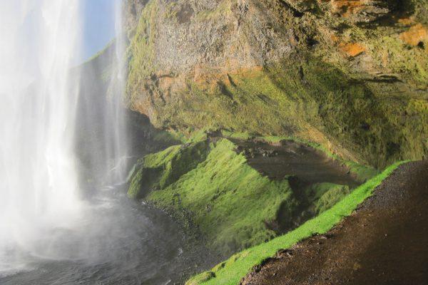 Wasserfall Island Seljalandsfoss
