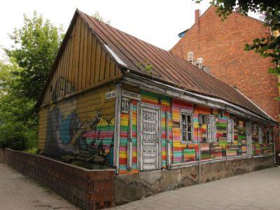 Graffiti Streetart Baltikum Kaunas