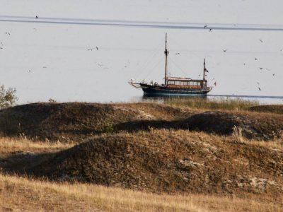 Kurische-Nehrung Litauen Fischerboot