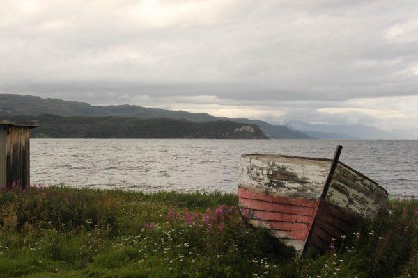 Norwegen Fjord Fischerboot lost-Places