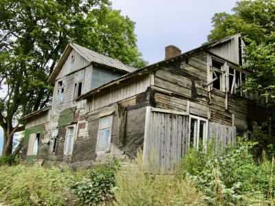 Häuserruine Baltikum lost-places