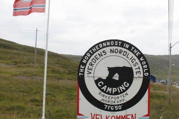 Der-nördlichste-Campingplatz-der-Welt am Nordkapp