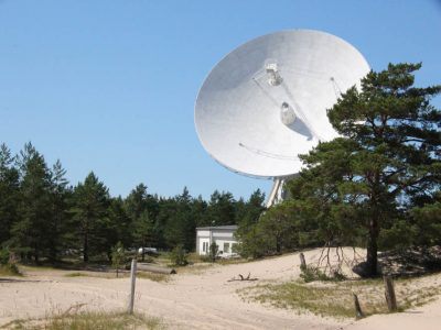 Irbenes-Radioteleskop Lettland Baltikum